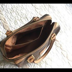 Celine Bags - CÉLINE Mini Boston Hand Bag Browns and Tan EVC!